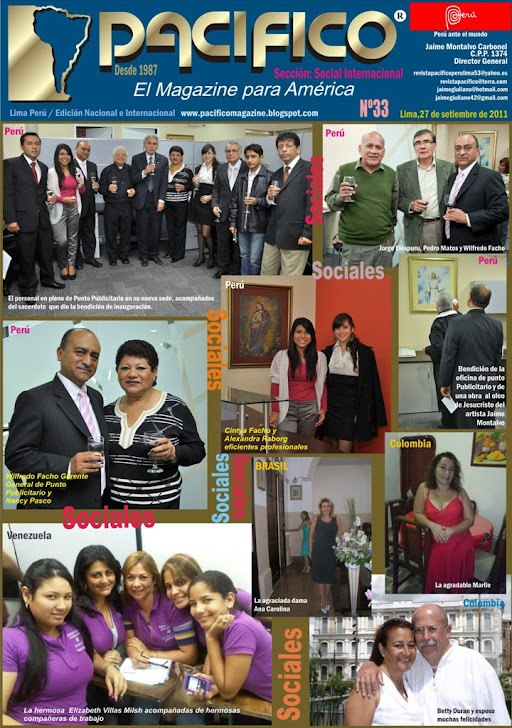 Revista Pacífico Nº 33 Social Internacional