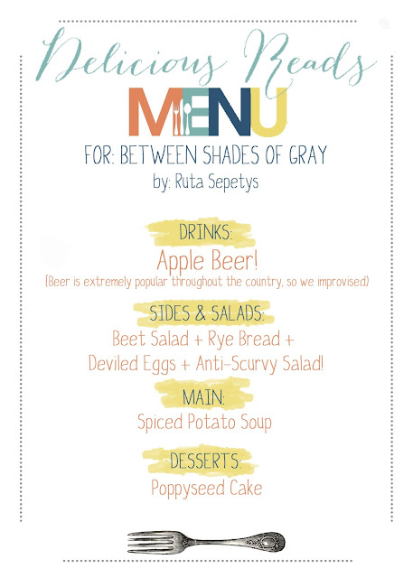 Between Shades of Gray Menu
