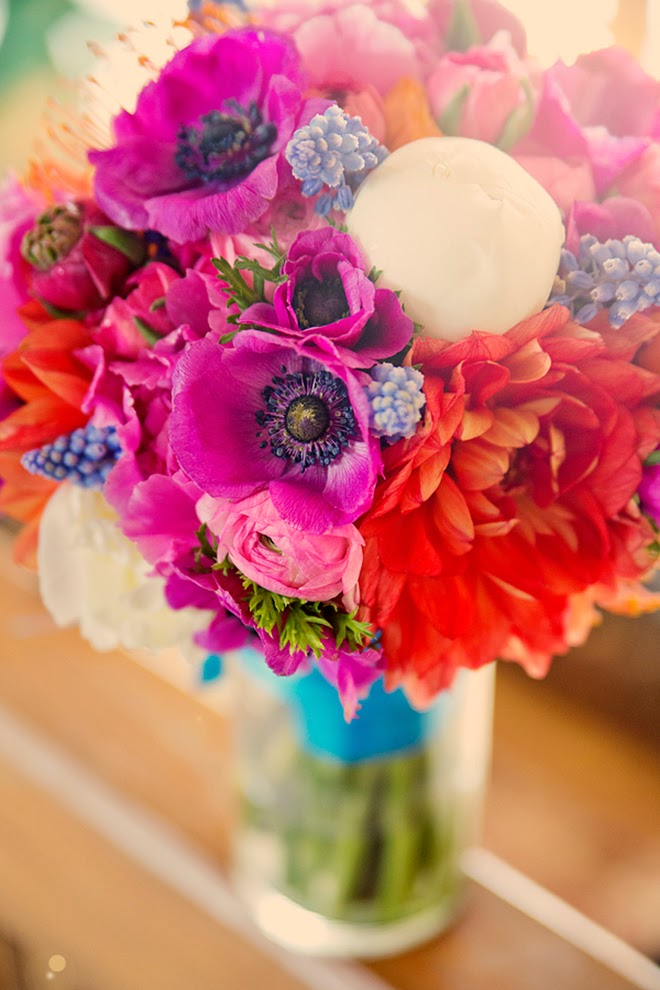 Bouquet Of Flowers Tumblr Colorful winter weddingBouquet Of Flowers Tumblr