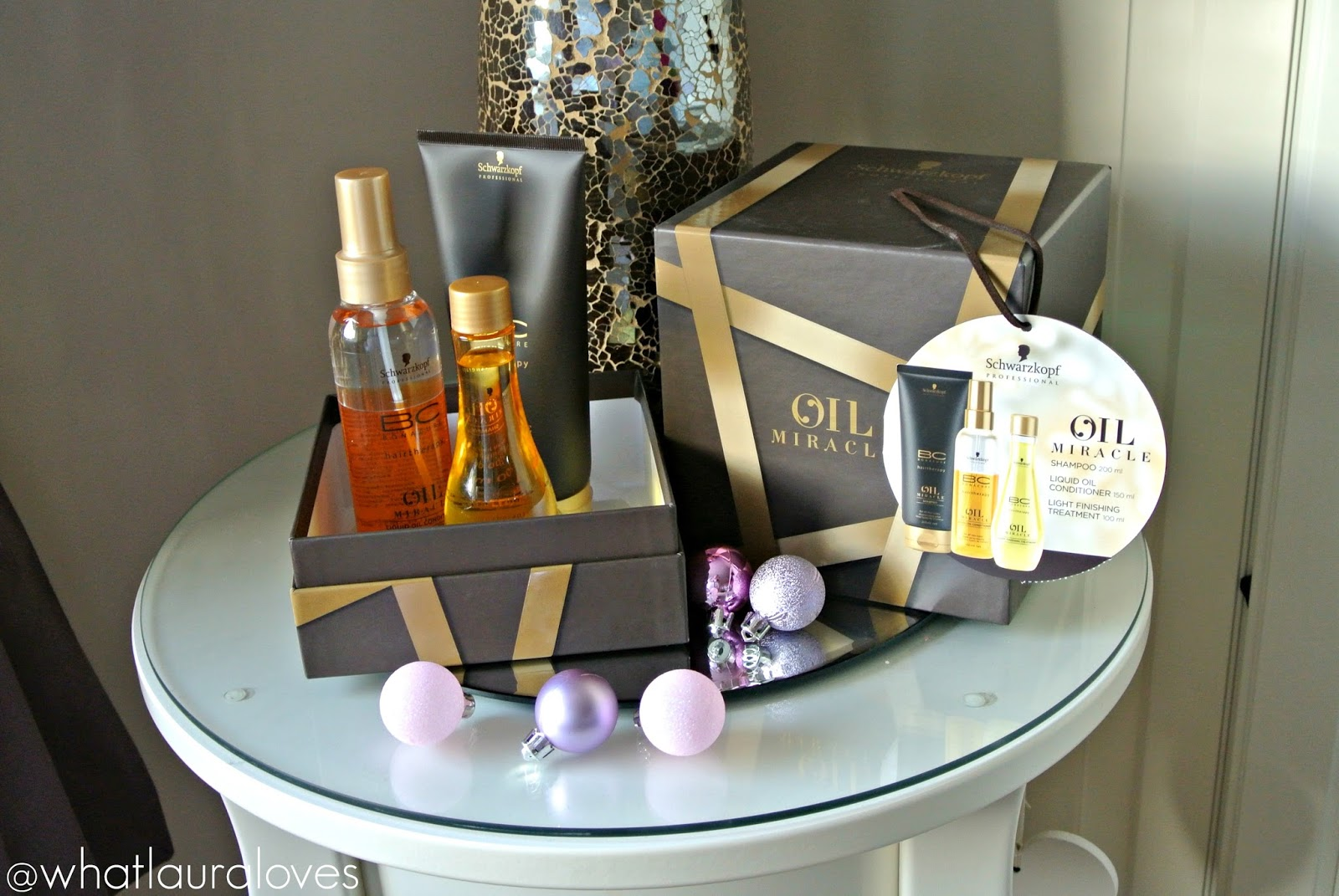 Christmas Gift Guide Schwarzkopf Professional BC Bonacure Oil Miracle Gift Set