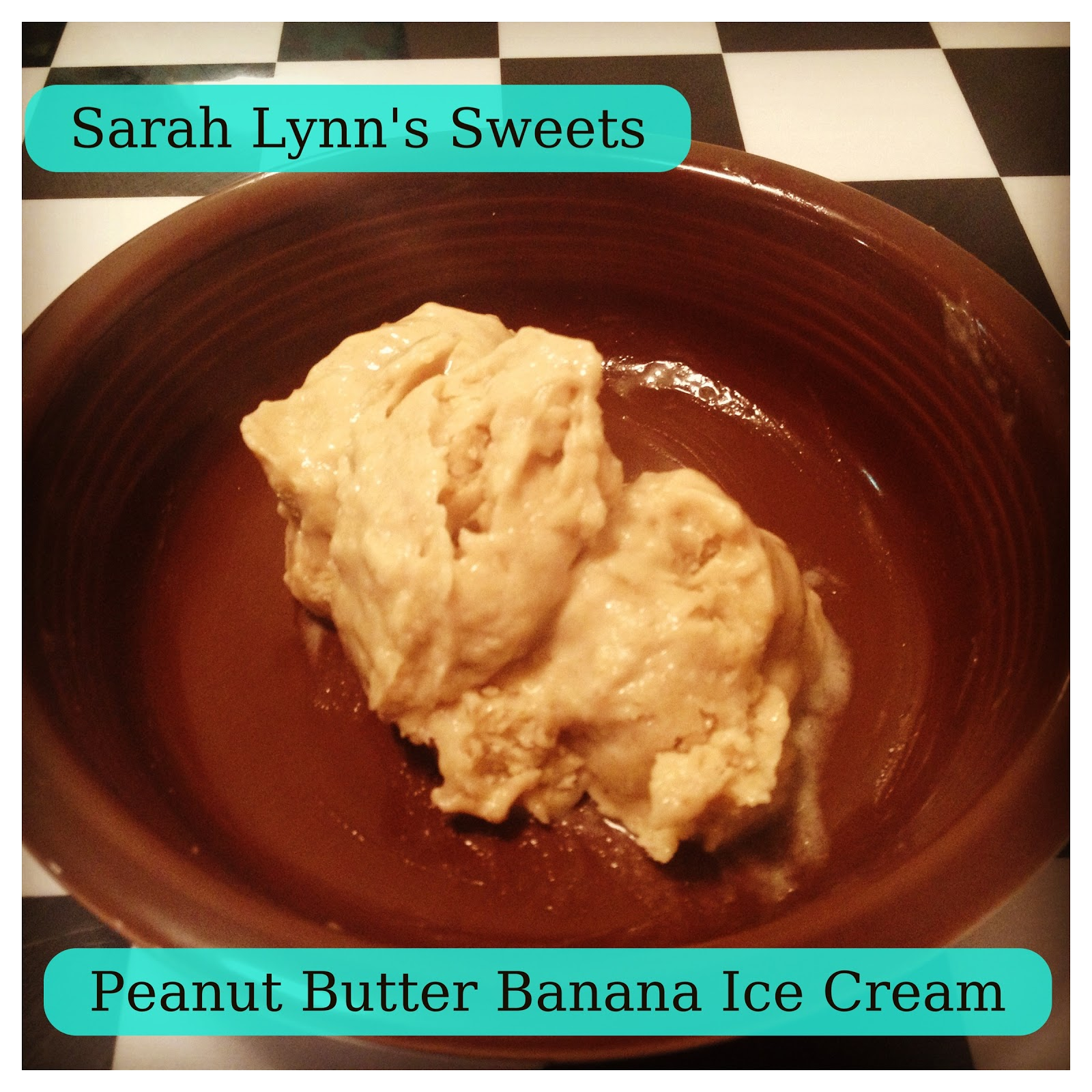 two ingredient banana peanut butter ice cream recipe two peas two ...