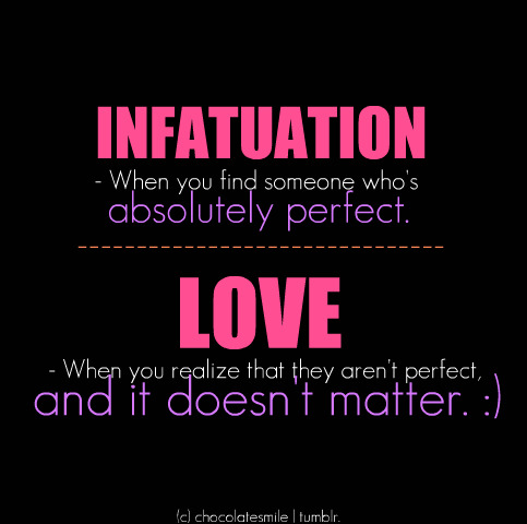 Infatuation symptoms
