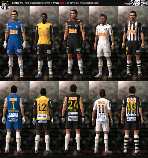 Santos 2011 Libertadores Kit Set by diNo