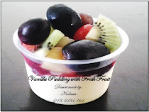 Vanilla Pudding with Fresh Fruit