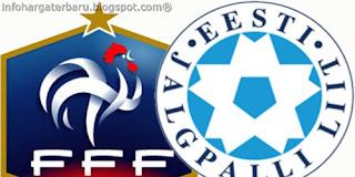 Skor Akhir Prancis vs Estonia Rabu 6 Juni 2012   Video Cuplikan Gol