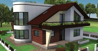 Modern american home exterior designs new home designs for Modern american house designs