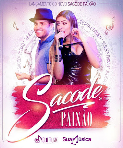 Forró Sacado lança novo CD Promocional Sacode Paixão. Baixe agora!