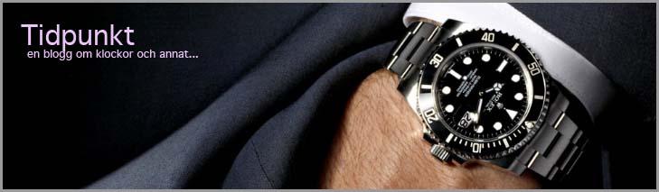 'Tidpunkt' en blogg om klockor och annat...