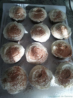 Cupcakes capuccino