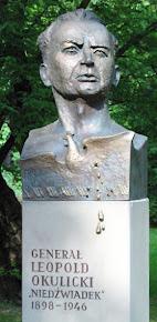 Pomnik gen Leopolda Okulickiego w Krakowie