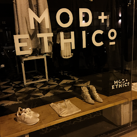 Mod + EthiCO Chicago sustainable resposible clothing shop.