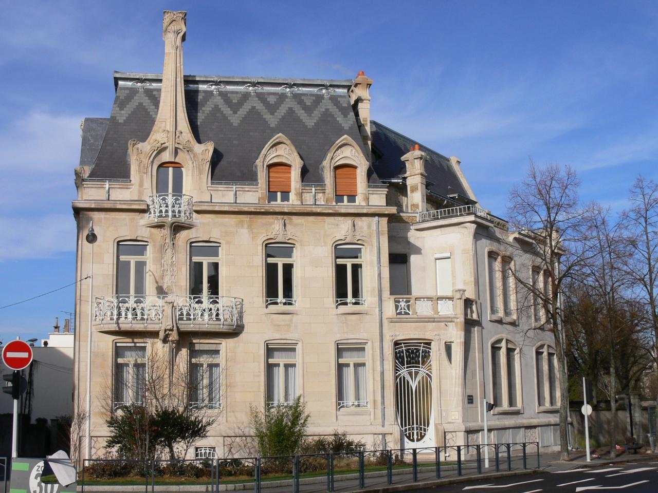 Art nouveau et jugendstil courants artistiques et for Une autre maison nancy