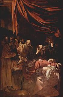 La muerte de la virgen (1601-1606)
