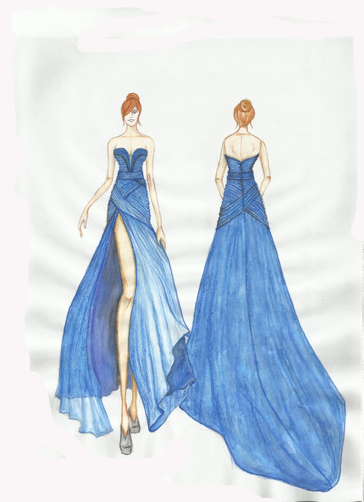 Neoromantic Bridal Sdn. Bhd----Tailor Made Wedding Gown Evening Gown Sketch Updated