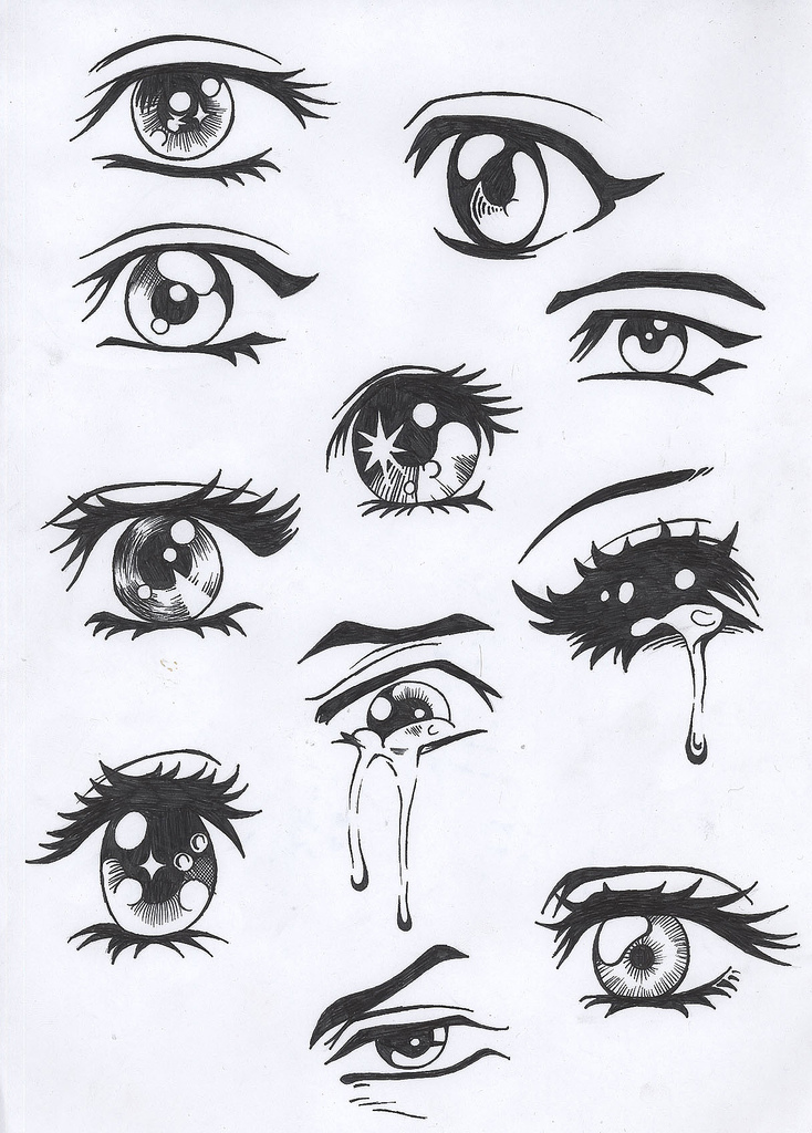 How to Draw Anime Eyes Girl