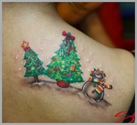 Age Old Youngster Tattoo Trends Christmas Tats