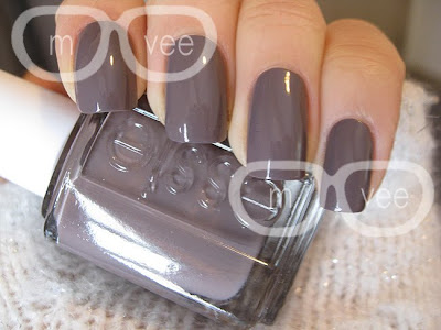 Essie purple nail polish swatch