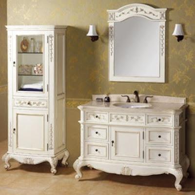 Muebles de ba o cl sicos o tradicionales ba os y muebles for Muebles bano clasicos