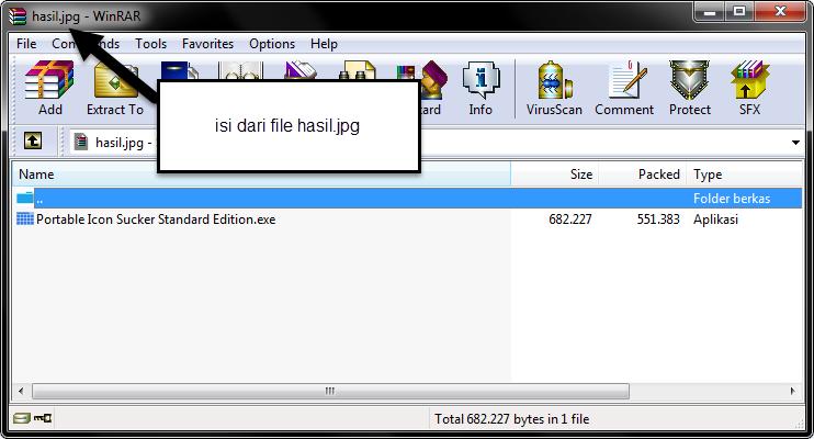 Mr. Nugh: Cara Menyembunyikan File ke dalam Gambar (.jpg)