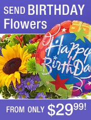 European Garden Bouquet for Birthday ad