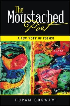 The Moustached Poet-a 'few' pots of poems!