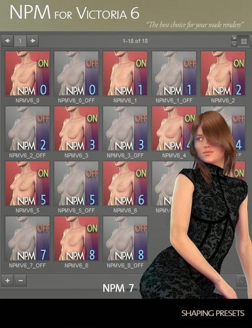 NPM (Petite sein naturel morphes) pour Victoria 6