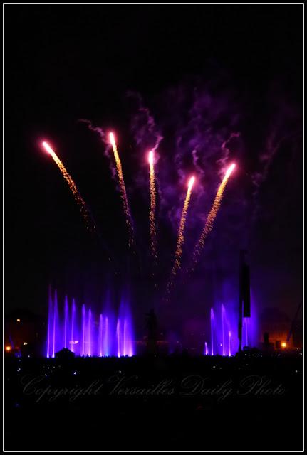 Feu d'artifice 14 juillet 2015 Versailles Bastille Day fireworks