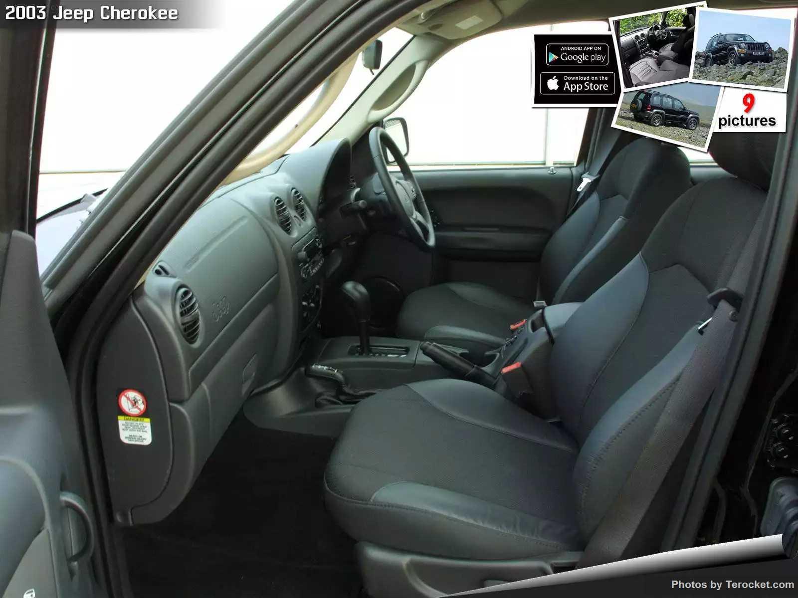 Hình ảnh xe ô tô Jeep Cherokee UK Version 2003 & nội ngoại thất