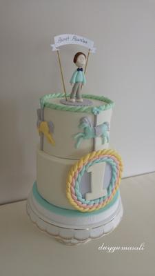 1 yaş butik pasta
