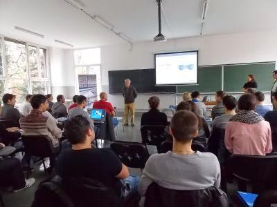 Bosch a invitat studentii Universitatii Politehnica la o cafea