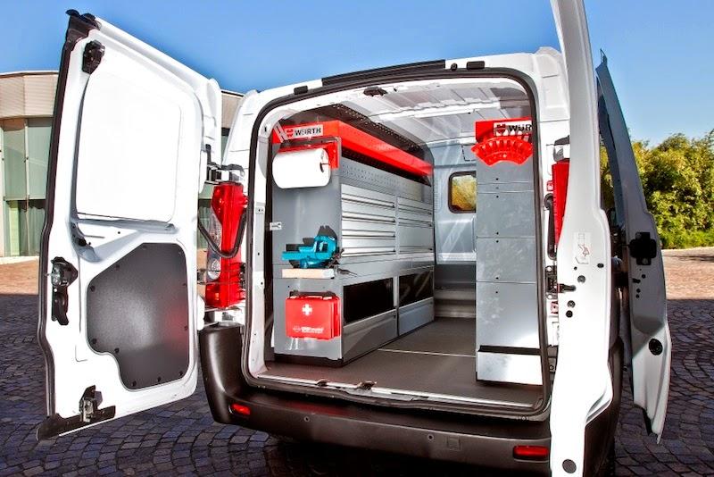 Co2motori un 39 idea di ferdinando sarno toyota proace in for Allestimento furgoni wurth