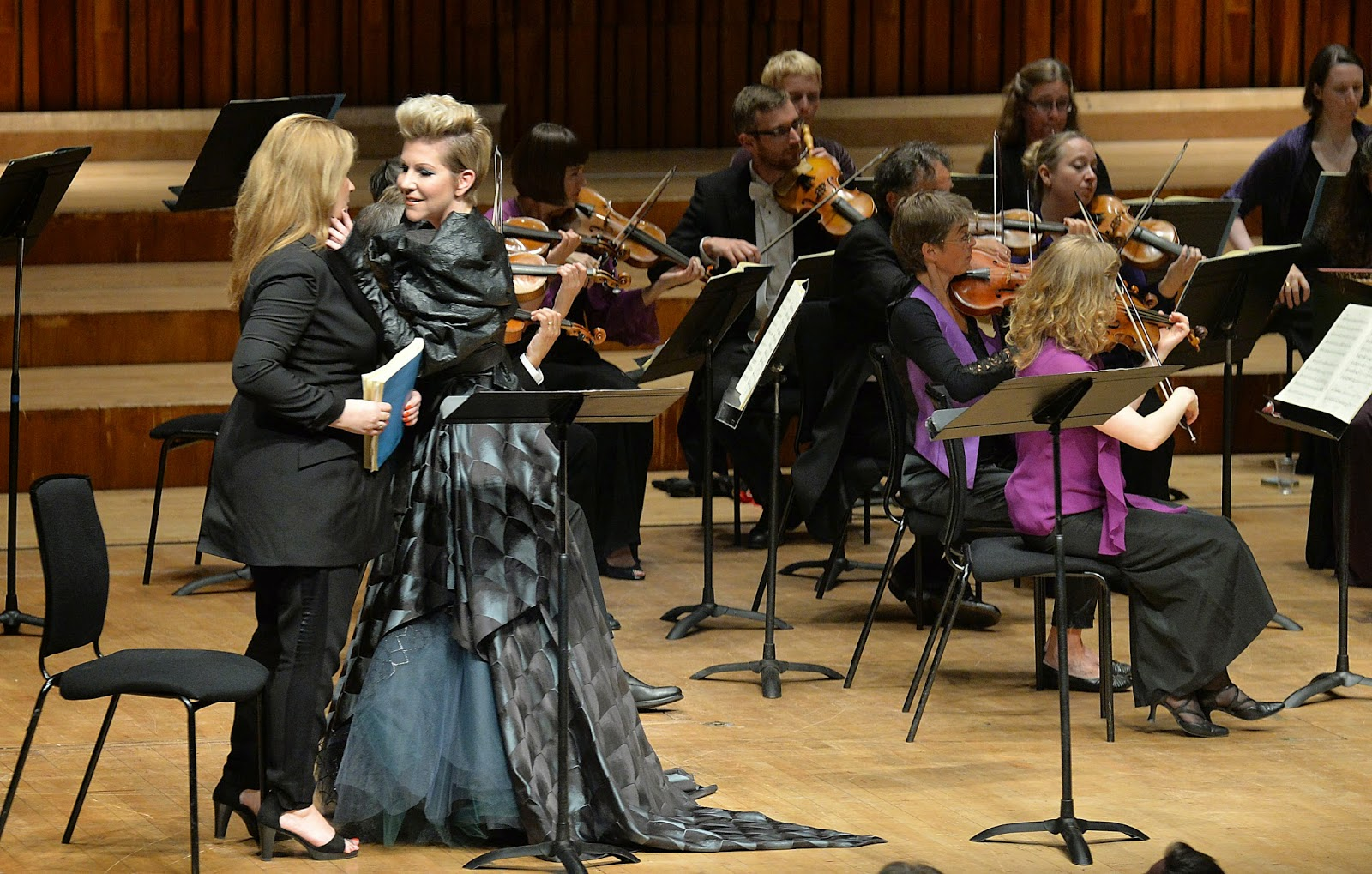 Joyce DiDonato and Alice Coote in Act 1 of Handel's Alcina at the Barbican with the English Concert - photo credit Mark Allan/Barbican