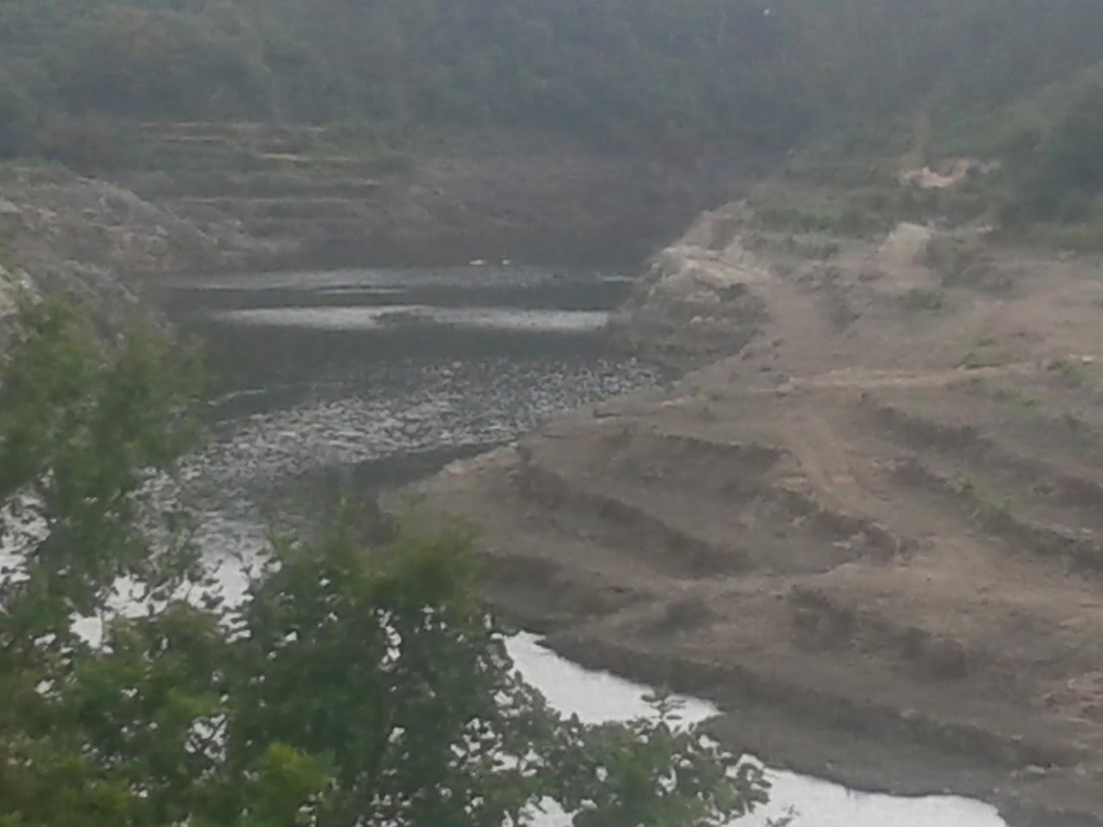 Canoagem na Barragem do Rio teixeira