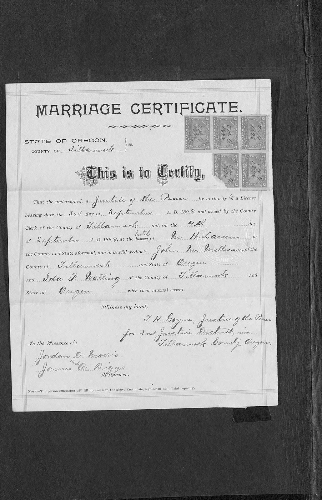 Millican carrara lippert et al genealogy blog census john m and ida f walling millican tillamook tillamook oregon aiddatafo Image collections