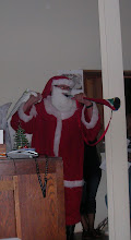 Santa with a vuvusela