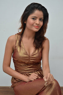 Actress Gehana Vasisth  Stills in Sleeveless Long Dress  252816.jpg