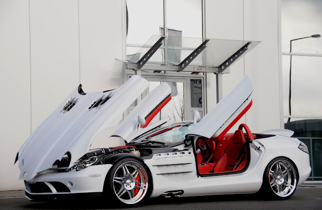 Foto Mobil Meren Mercedes Modification White Stylish