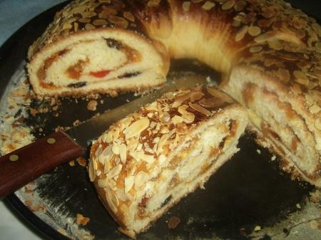 Brioche roul e farcie cuisine algerienne - Recette de cuisine algerienne moderne ...