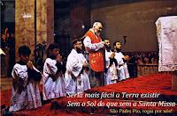 Diversos tipos de celebración de la Misa Tradicional.