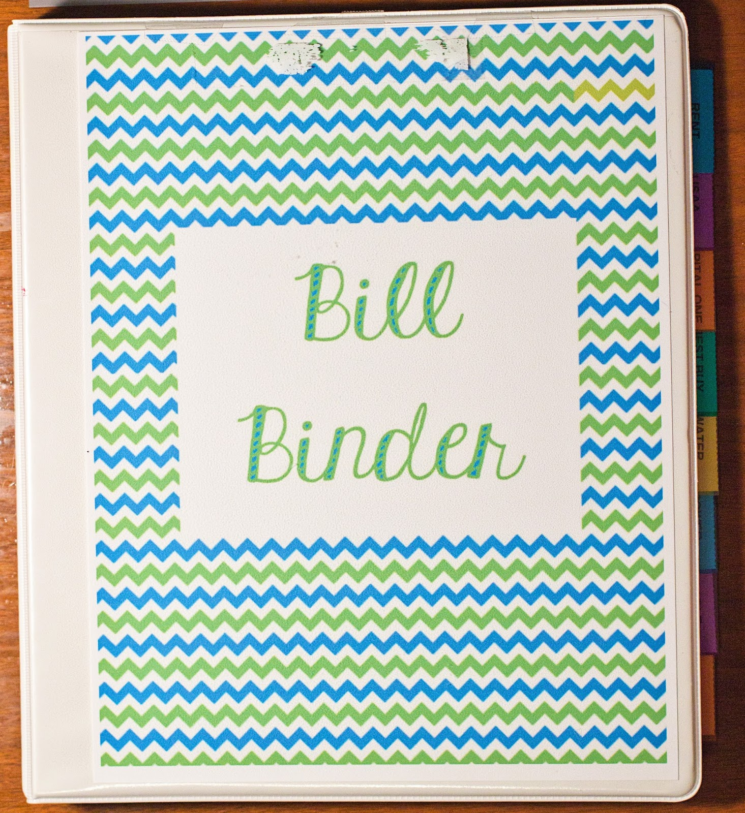 once i started i realized that putting a bill binder together wasnt all that difficult or time consuming i still dont know why i hadnt done it sooner