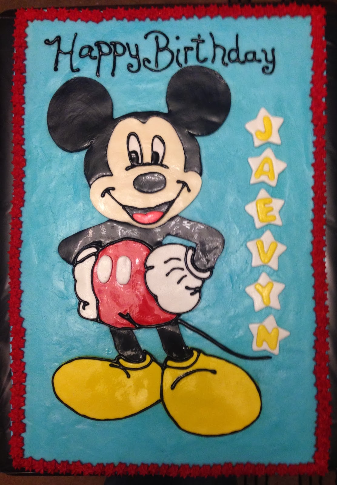 Cakes By Mindy Mickey Mouse Sheet Cake 10 X 15