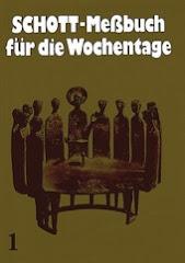 Schott Messbuch für die Wochentage (1)