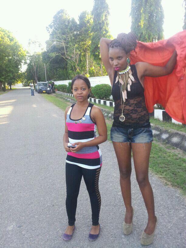 Picha:- Video Shoot Ya Isabela Mpanda 'Bellha' Wa Scorpion Girls