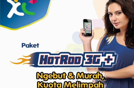 Cara Mengaktifkan Paket Internet HotRod 3G+ Triple Kuota XL