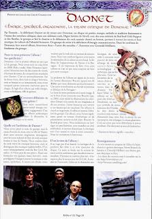 Chronique de l'album Donemat du groupe de rock breton Daonet