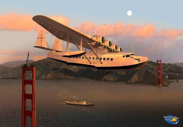 pan american airlines in art