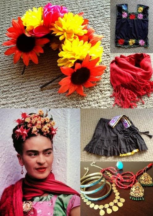 http://acupofsparkle.blogspot.com/2013/11/frida-kahlo-halloween-costume-diy.html