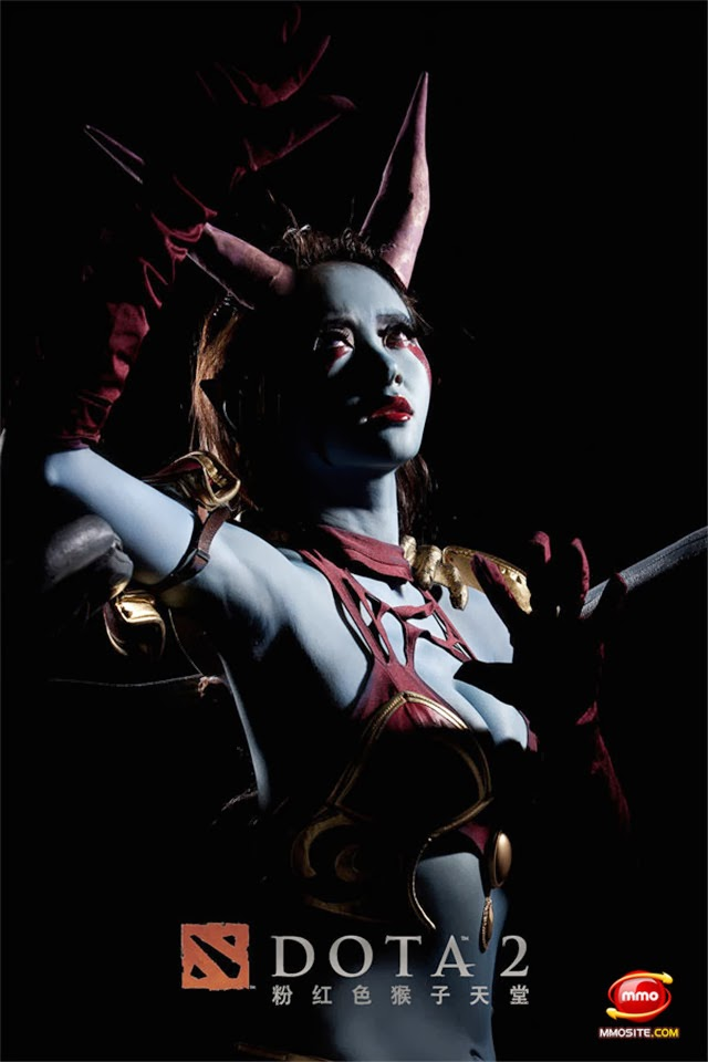 queen of pain cosplay ti4 - photo #41
