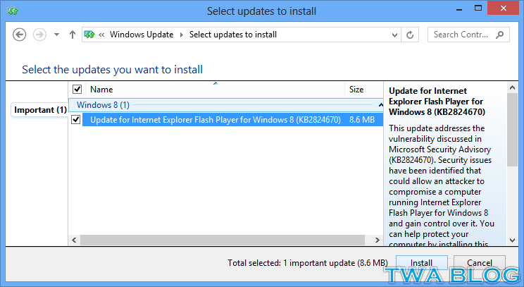 Install New Version Of Windows Update