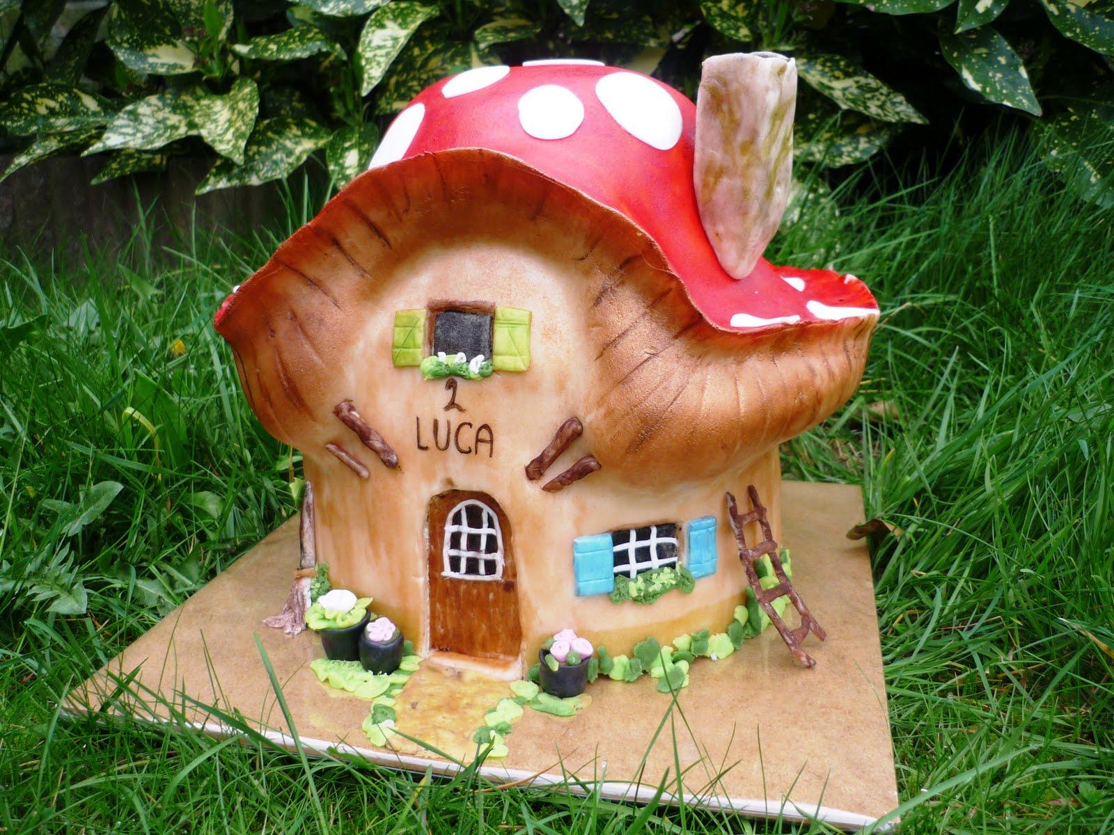 Karen anne cakes het huis van de kabouter - Het huis van de cabriolet ...